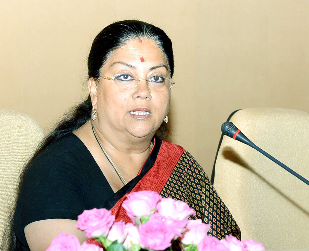 Vasundhara raje on world tourism day 2016
