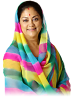 Know more about Smt. Vasundhara Raje