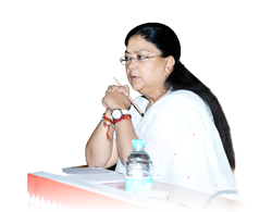 Smt. Vasundhara Raje writes about her ideas for development of Rajasthan State...