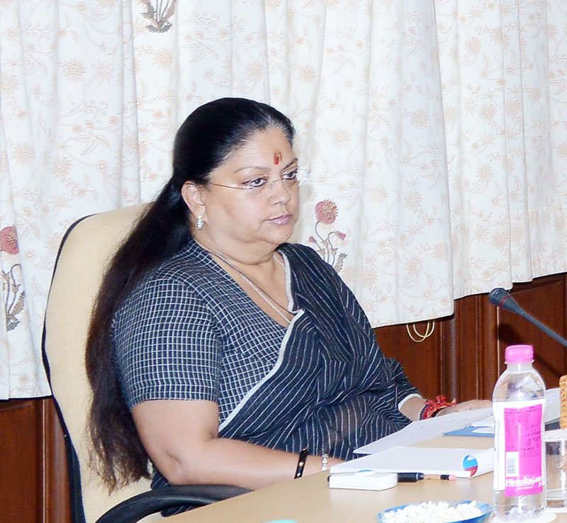 Chief Minister Vasundhara Raje Condolences on the passing of Urdu Poet Nida Fazi