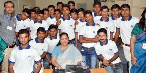 rajasthan youth global citizen vasundhara raje