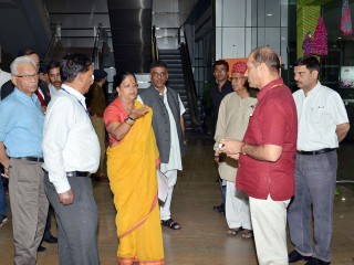 CM made a surprise check of preparation of Rajasthan Resurgent