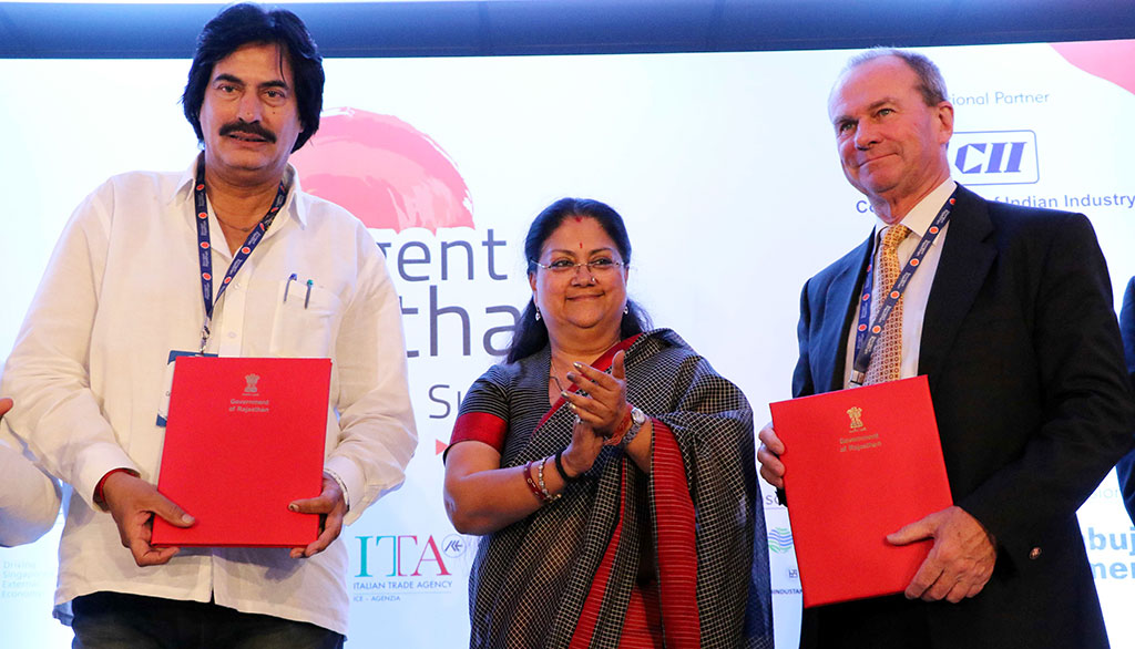 Resurgent Rajasthan Partnership Summit