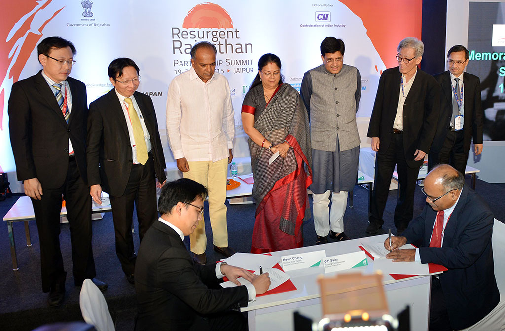 राजस्थान और सिंगापुर के संबंध काफी गहरे