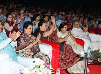 CM Vasundhara Raje also participated in the cultural evening 4