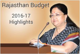 rajasthan budget 2016-17