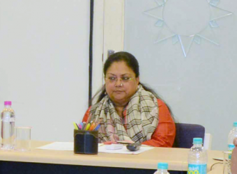 vasundhara raje- Collector SP conference
