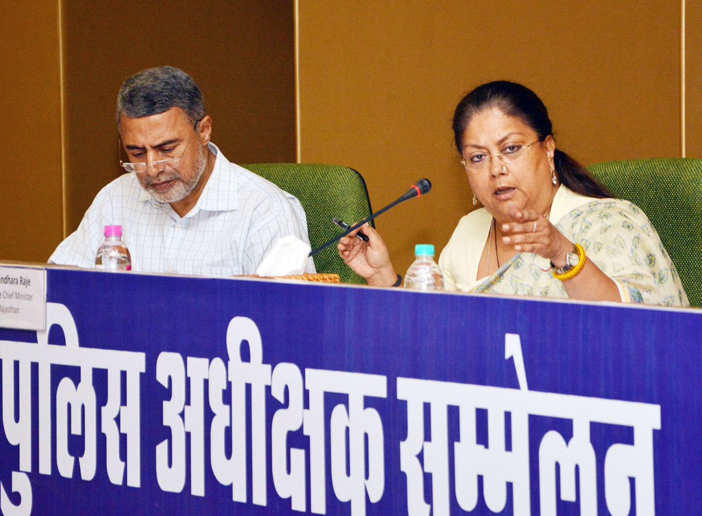 Vasundhara raje- water resource management in rajasthan