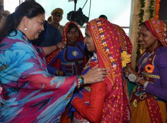 Chief Minister of Rajasthan Vasundhara Raje