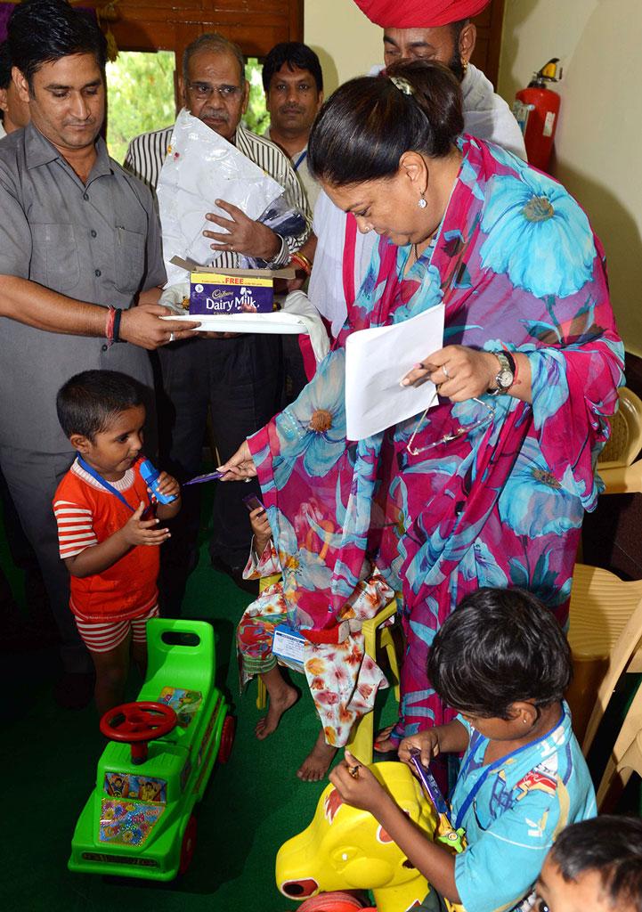 CM Vasundhara Raje - Apka Zila Apki Sarkar