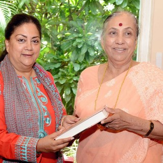 पूर्व राज्यपाल श्रीमती आल्वा की मुख्यमंत्री से मुलाकात
