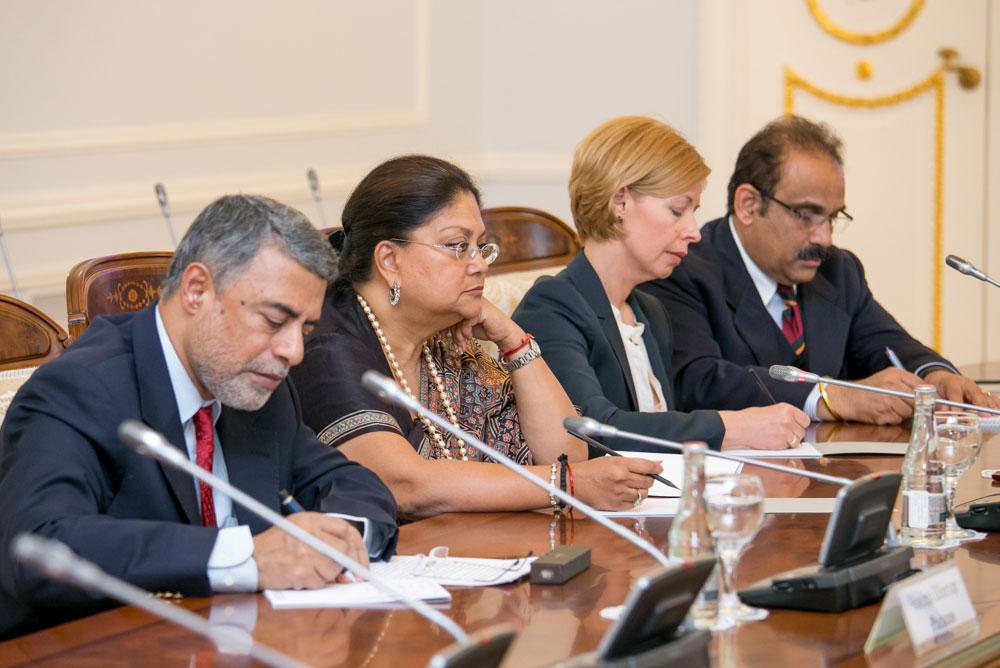 Chief Minister Vasundhara Raje Day 2 - Russia Visit