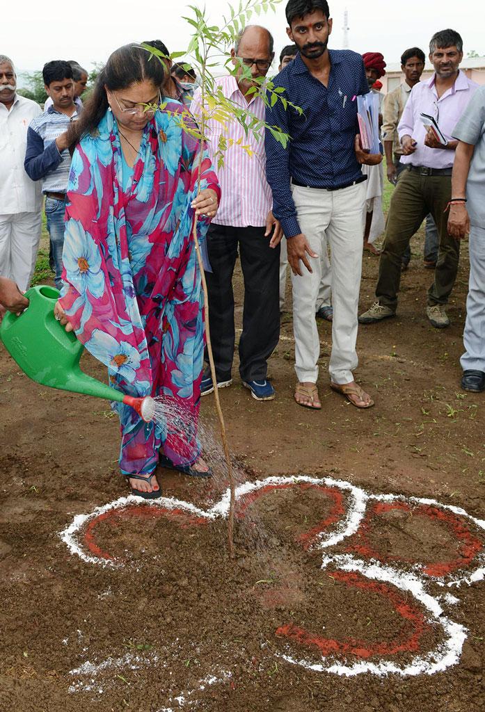 CMChief Minister Vasundhara Raje - Sirohi