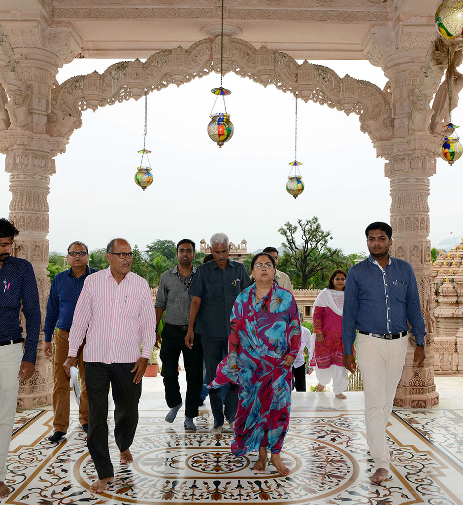 CM visits Sirohi