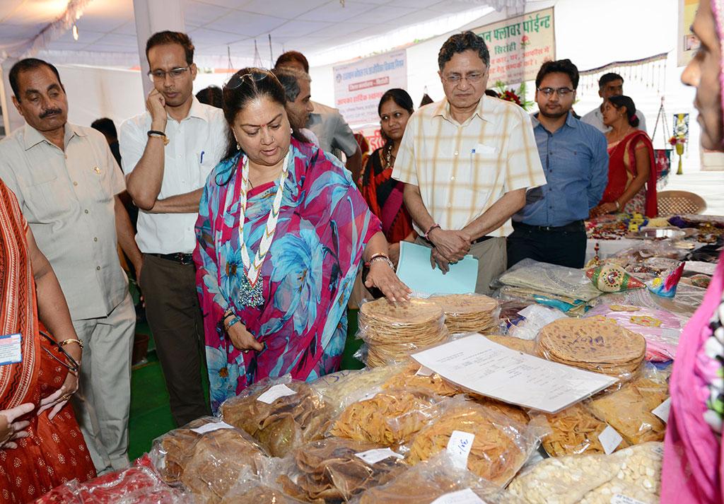 Rajasthan Government, CM Vasundhara Raje