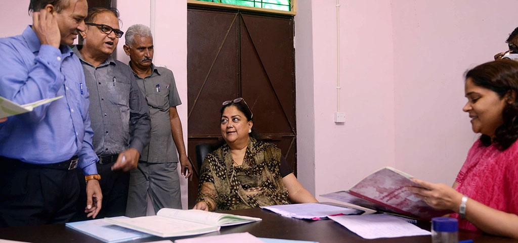 Vasundhara Raje in sirohi day 3