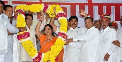 announcements vasundhara raje