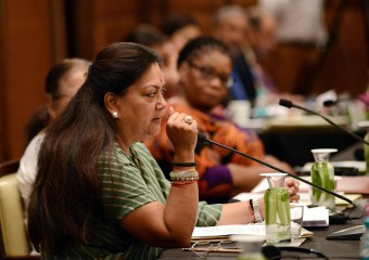 CM Smt. Vasundhara Raje addressed the valedictory Session of BRICS Women Parliamentarian Forum