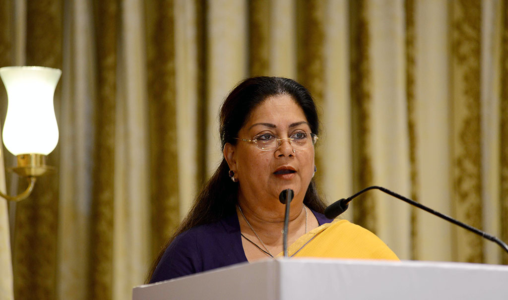 chief minister vasundhara raje brics smart cities conference