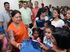 vasundhara raje rakhi celebration