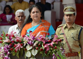 vasundhara raje independence day speech