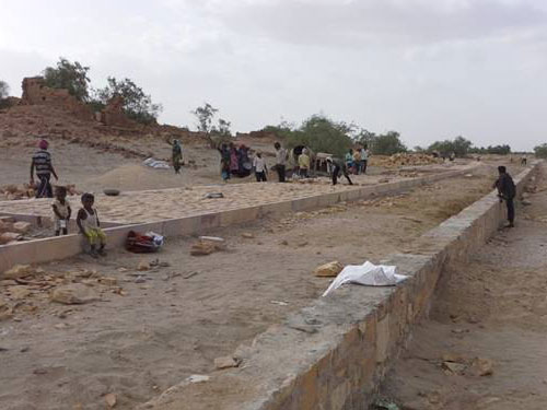 gorwar kuldhara jaisalmer before picture2