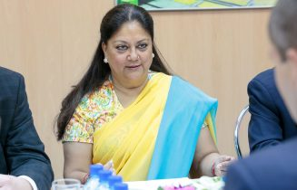 vasundhara raje interview with BS