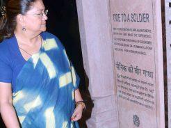 Vasundhara inaugurate war museum in Jaipur