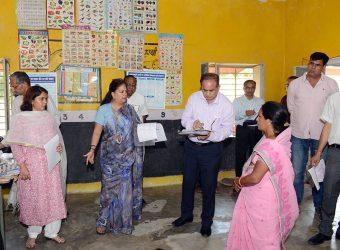 Vasundhara Raje dausa day 2 pichubada anganbadi