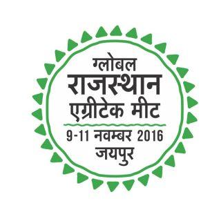 Global Rajasthan Agritech Meet logo