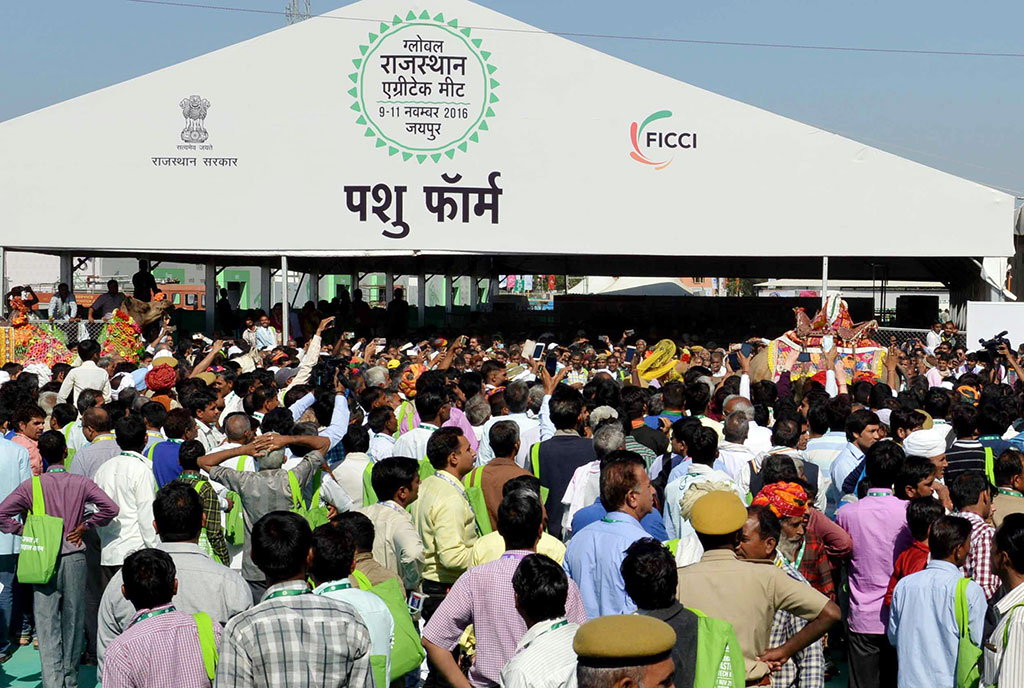 'Smart Farm' attracts farmers during GRAM-2016