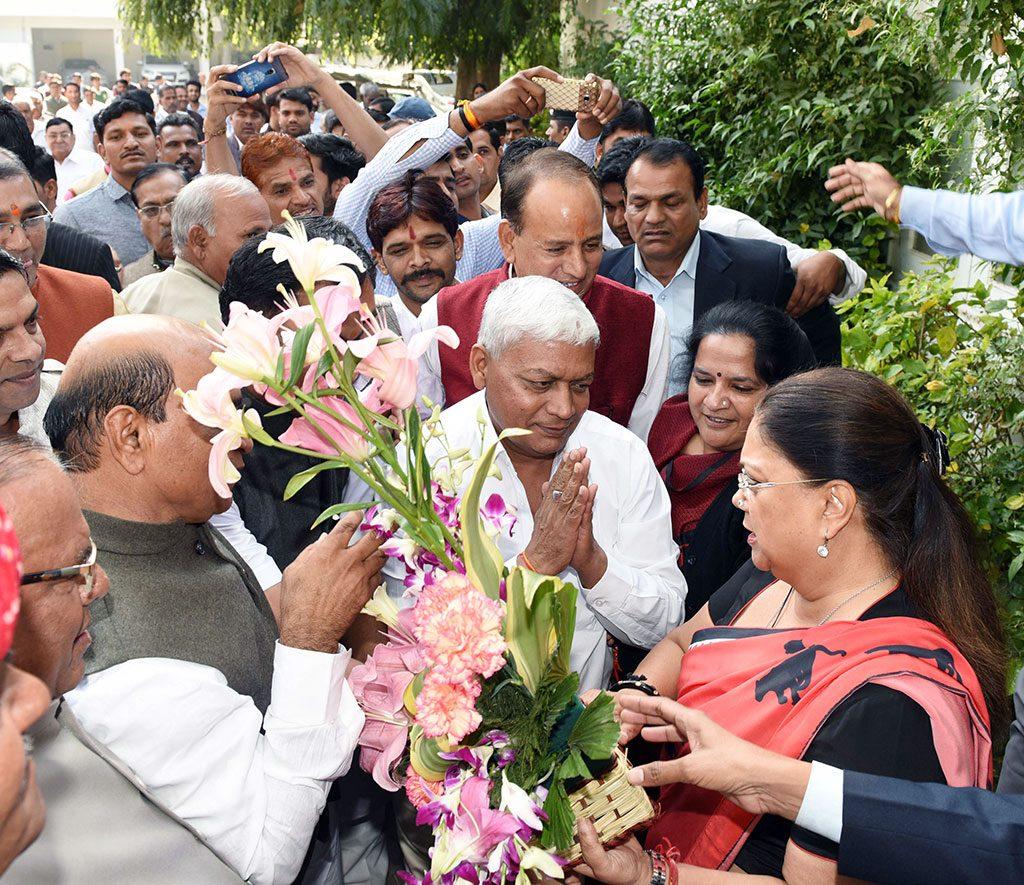 CM Bhilwara uit chairman thanks to Vasundhara raje
