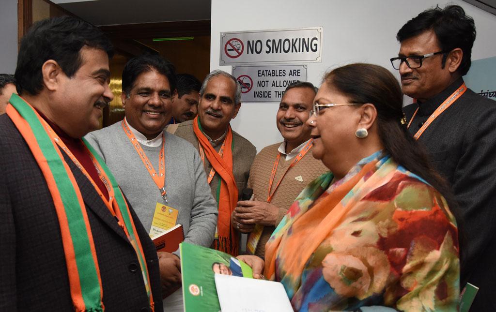भाजपा राष्ट्रीय कार्यकारिणी में भामाशाह योजना की जमकर प्रशंसा