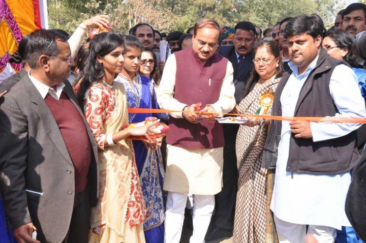 सुराज के लिए मोदी कप की हकदार मुख्यमंत्री श्रीमती राजे – केन्द्रीय मंत्री