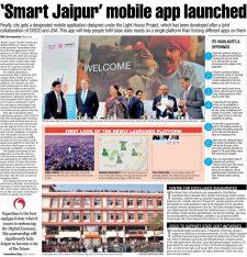 Smart Jaipur mobile app launched