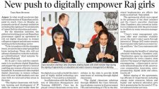 New push to digitally empower Raj girls