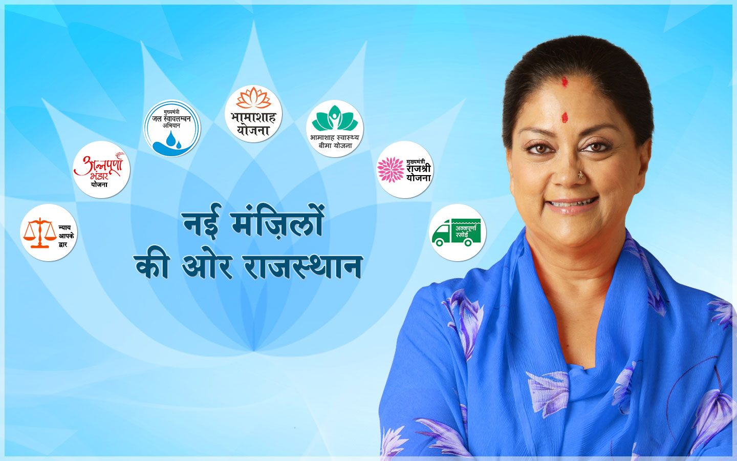 vasundhara raje wallpaper towards new horizons