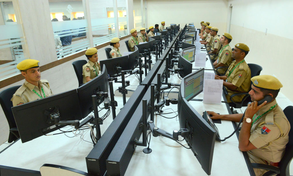 Abhay Command Centre For Safe Rajasthan Through Smart Policing