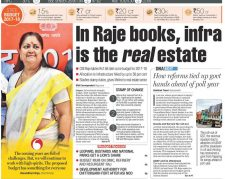 In Raje books, infra is the real estate