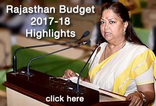 rajasthan budget 2017-18