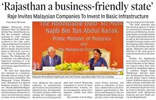 Rajasthan a business-friendly state
