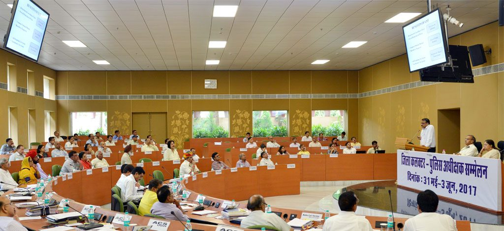 कलेक्टर-एसपी सम्मेलन मई 2017
