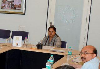 मुख्यमंत्री की अध्यक्षता में आधारभूत ढांचागत विकास परिषद की पहली बैठक