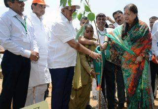 मुख्यमंत्री ने बिल्व पत्र के पौधे लगाकर वन महोत्सव की शुरूआत की