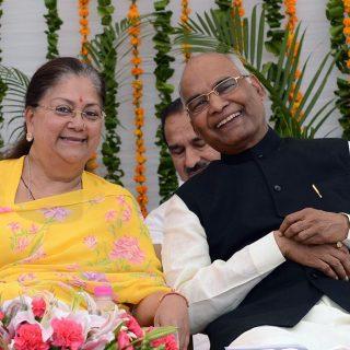 मुख्यमंत्री ने राष्ट्रपति के शपथ-ग्रहण समारोह में भाग लिया