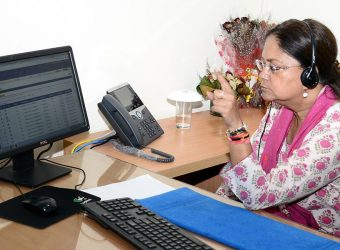 cm makes visit to helpline call center MHS_3514