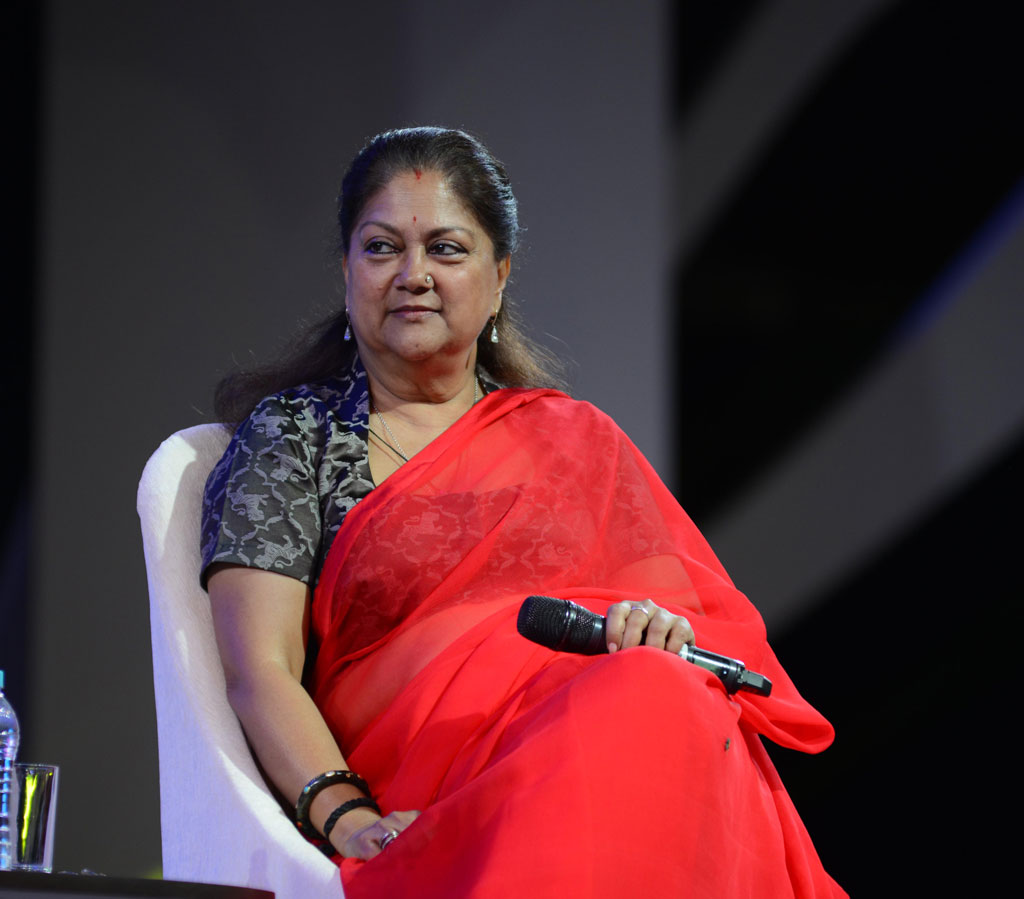 vasundhara raje festival of education day 2 interview CMA_9465