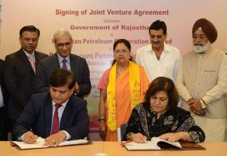 Centre clears Rajasthan Refinery Project, Joint Venture agreement signed with HPCL
