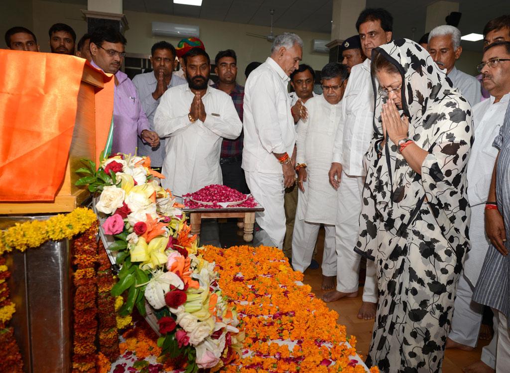 vasundhara raje tributes to sanwarlal jat CMA_0002
