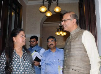 cm meets Union Minister of State for Civil Aviation jayant sinha